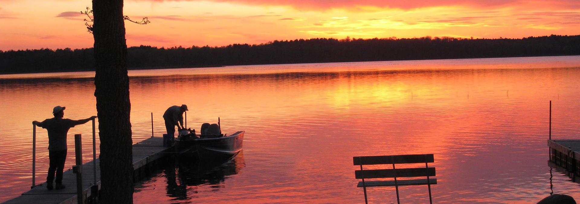 Dreamers Resort Lake at Sunrise