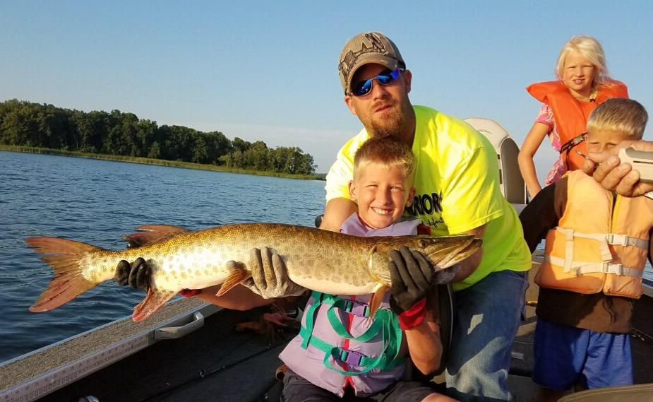 big lake muskie