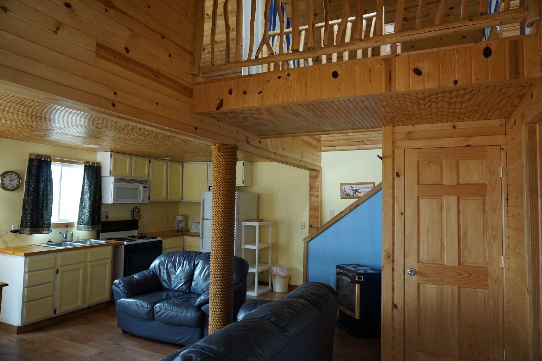 dreamers resort inside cabin