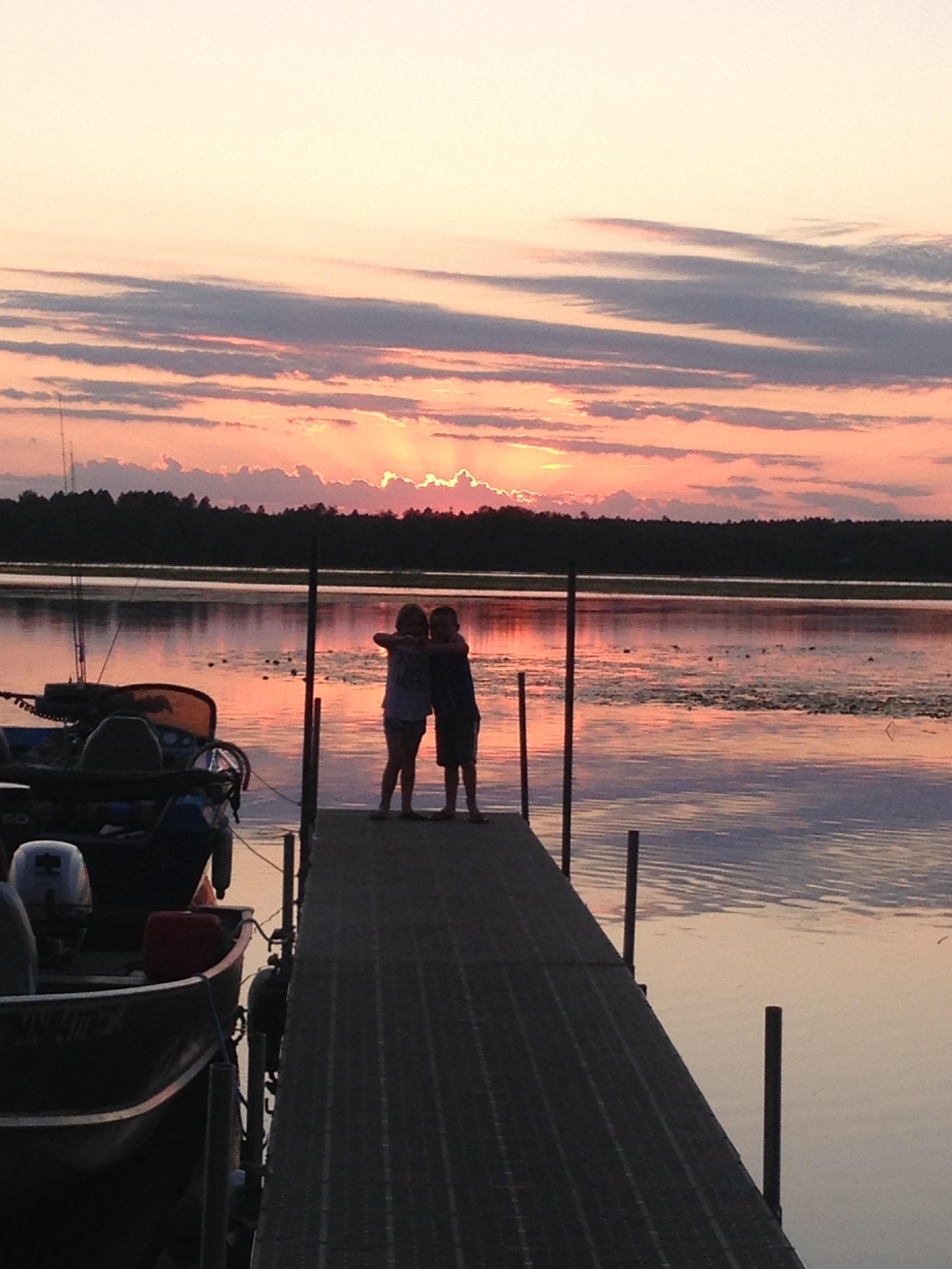 dreamers resort sunset